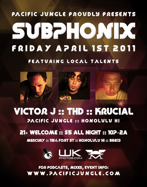 April 2011 Subphonix Flyer
