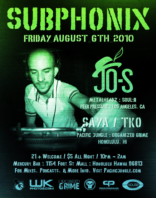 August 2010 Subphonix Flyer w/ Jo-S