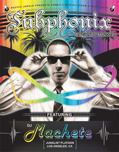 Subphonix August 2009 Flyer Front