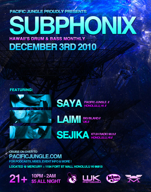 December 2010 Subphonix Flyer