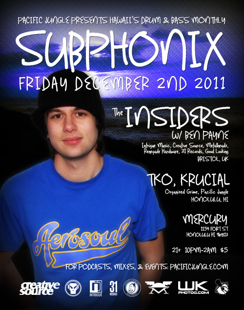 December 2011 Subphonix Flyer