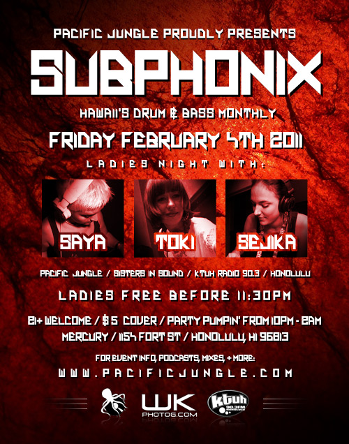 February 2011 Subphonix Flyer
