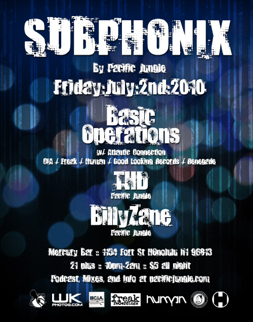 July 2010 Subphonix Flyer