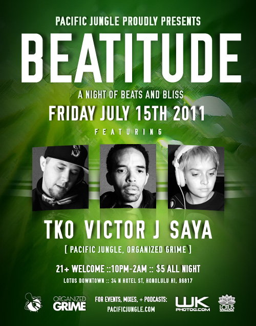 July 2011 Beatitude Flyer