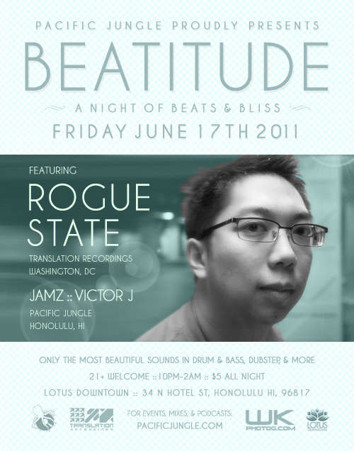 July 2011 Beatitude Flyer with Rogue State