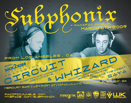March 2009 Subphonix Flyer