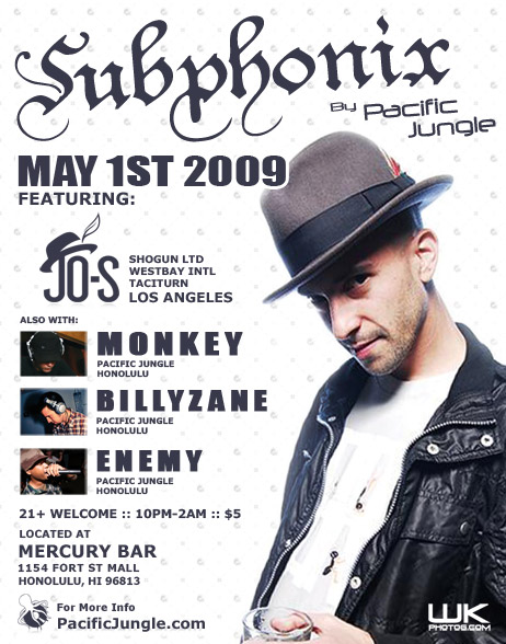 May 2009 Subphonix Flyer