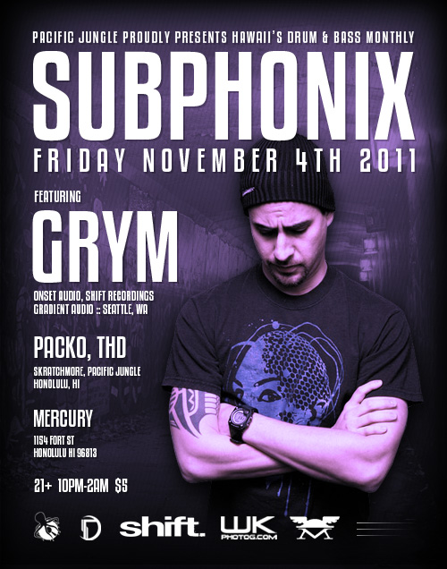 November 2011 Subphonix Flyer