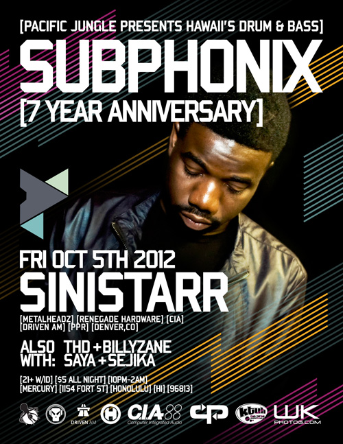 October 2012 Subphonix Flyer