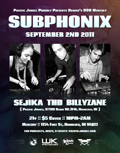 September 2011 Subphonix Flyer