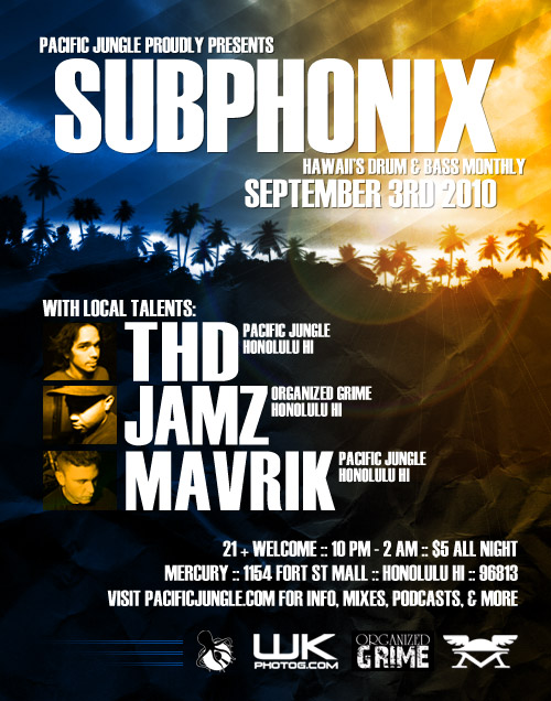 September 2010 Subphonix Flyer